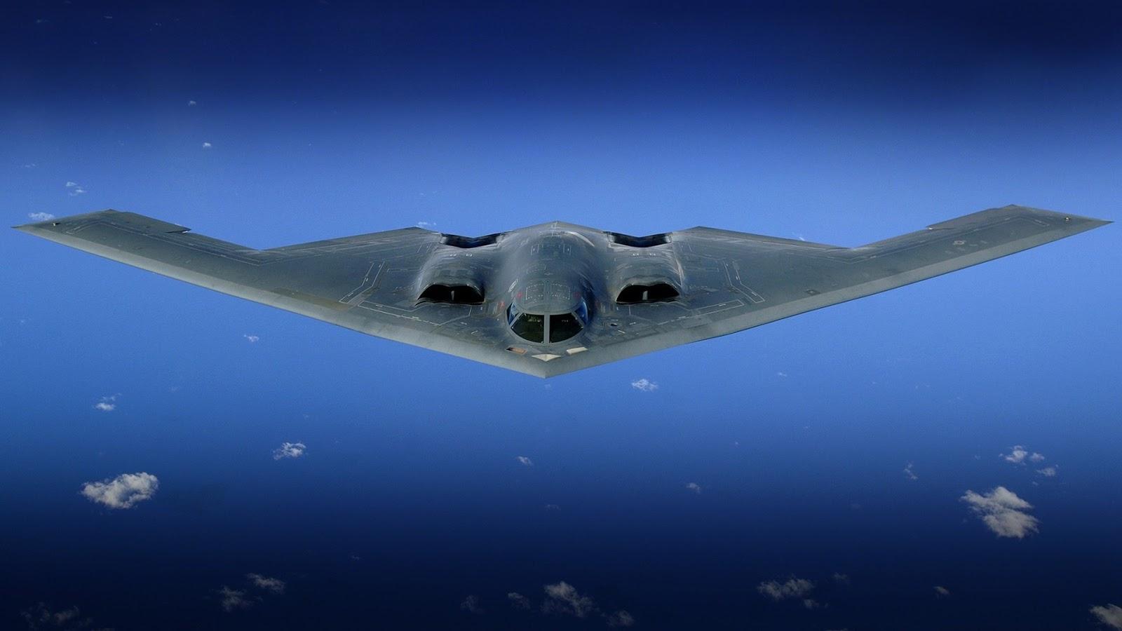 B2 Bomber in the Sky