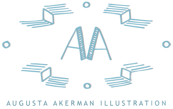 Augusta Akerman - Illustration