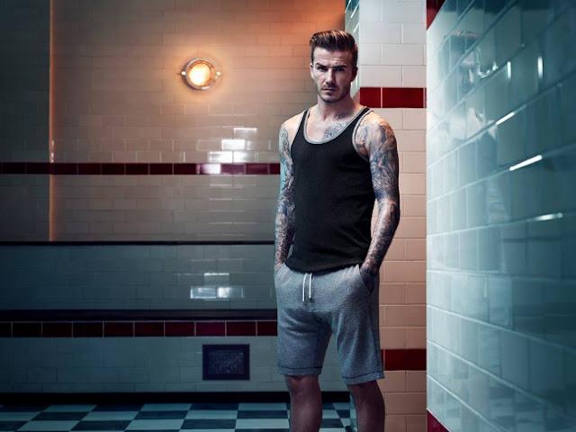 David con camiseta tirantes y pantalon corto
