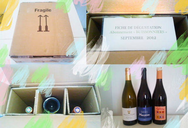 J'ai testé la box Trois Fois vin de septembre