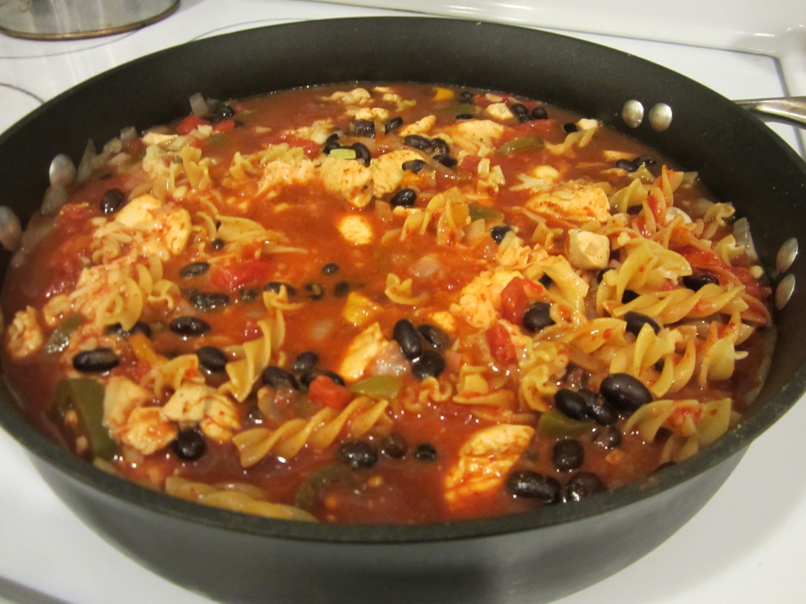 Life on Food: Southwest Chicken Pasta Skillet