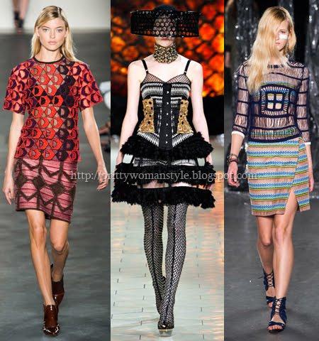 Екстравагантни рокли от дантелен пачуърк