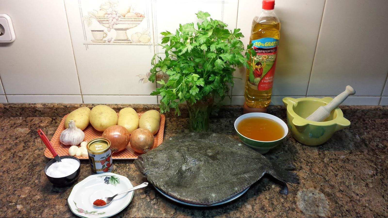 Rodaballo al horno la cocina tradicional de cambalache3 for Cocina tradicional