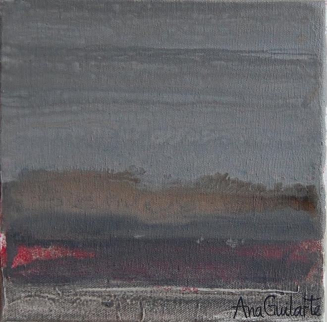 117. UNTITLED. Framed 25x25cm. Sold/Vendido