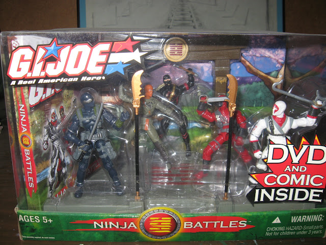 The G.I. Joe Ninja Battles Set
