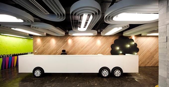 Saatchi & Saatchi's Office Interior Design Ideas