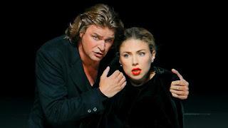 Annette Dasch (Elsa) und Klaus Florian Vogt (Lohengrin)
