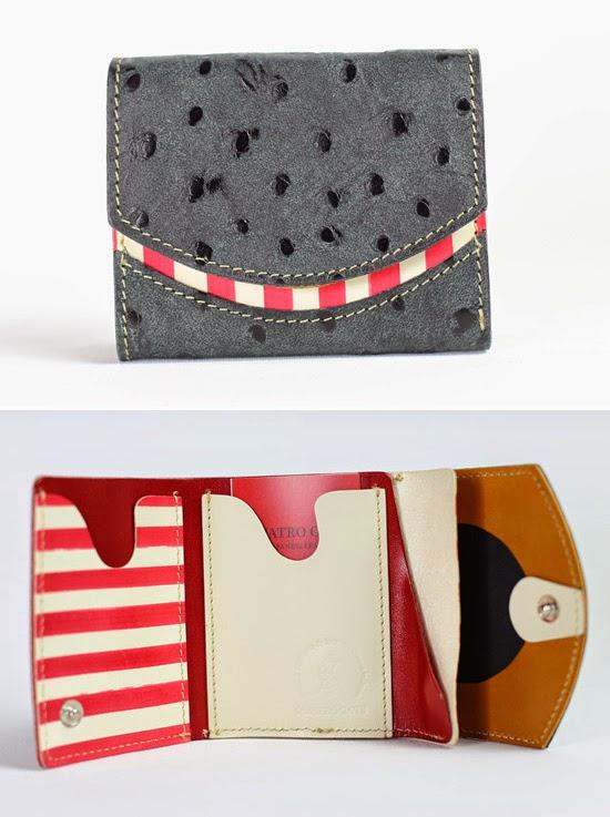 小さい財布キャメルバード