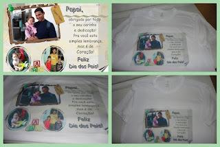 Blusa Personalizada - Dia dos Pais