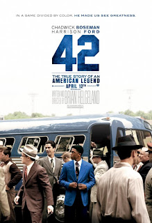 42 Movie Poster Chadwick Boseman