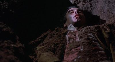 Julian Marty buried alive, Blood Simple (1984), Directed by Joel Coen, Coen Brothers debut film