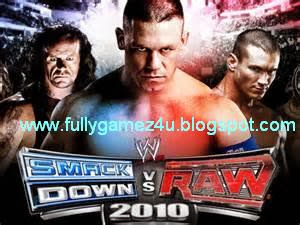 Download Free WWE Smack Down Vs Raw 2010 Game
