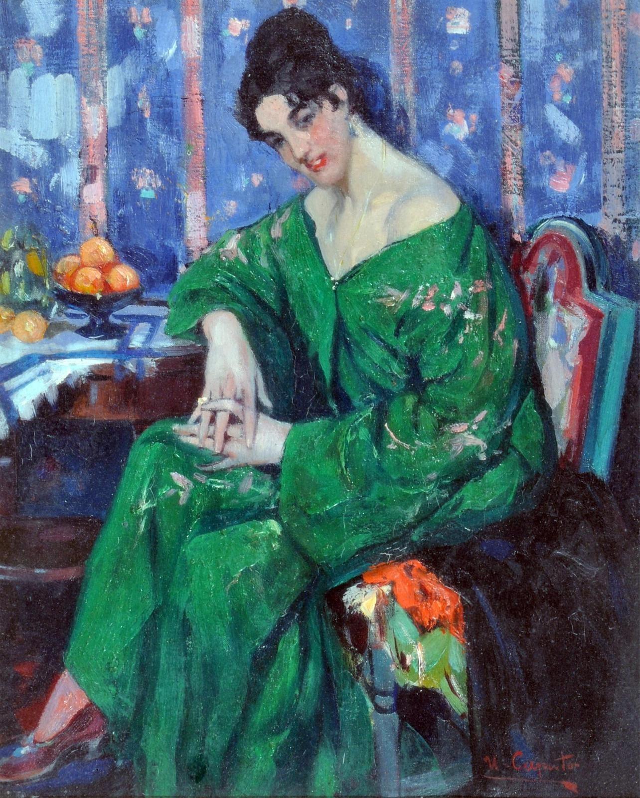 Ulisse Caputo Il kimono verde