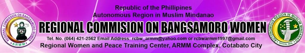 Regional Commission on Bangsamoro Women