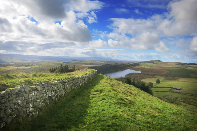 best views of hadrian's wall on the best walk
