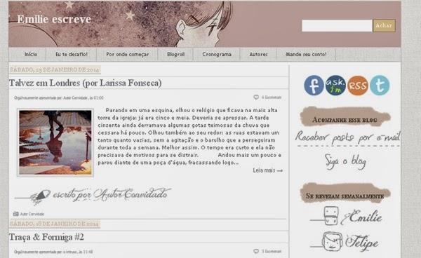 blog de textos, contos, Emilie escreve