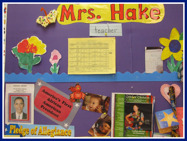 photo of: Kindergarten Bulletin Board