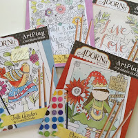 Adornit Coloring Books