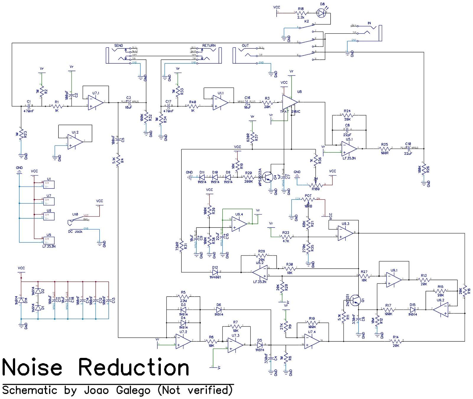 Isp Decimator Noise Reduction System La Rvolution Deux Wah Pedal Wiring Diagram