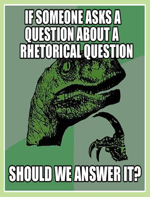 can you ask rhetorical questions in an argumentative essay