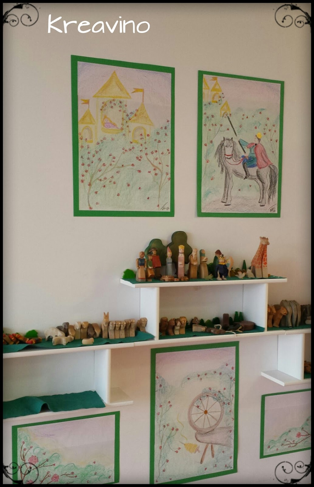 Mrchenbilder Kinderzimmer: Fensterbild frida fr?hst?ckt arena verlag ...