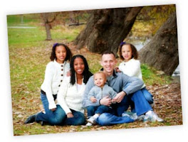 Mia Love with husband and children