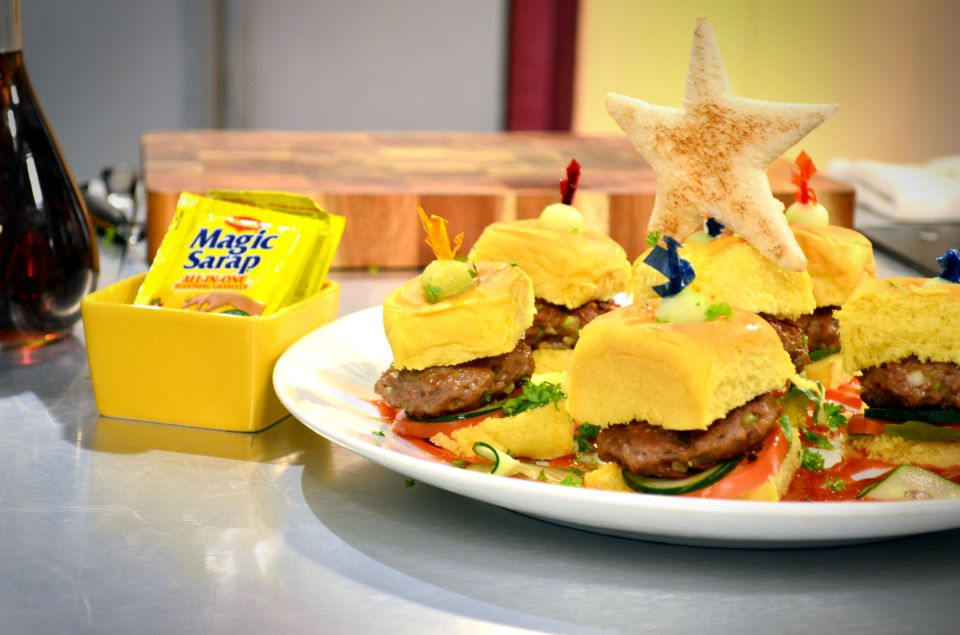 Magic Kiddie Mini Burgers Recipe