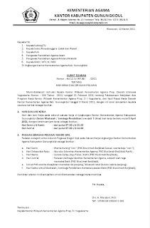Surat Edaran Seragam PNS dan Hari Kerja 2011