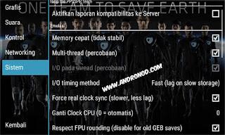 Cara Setting Emulator PPSSPP Pes2015/16 di Android Work Tanpa Lag