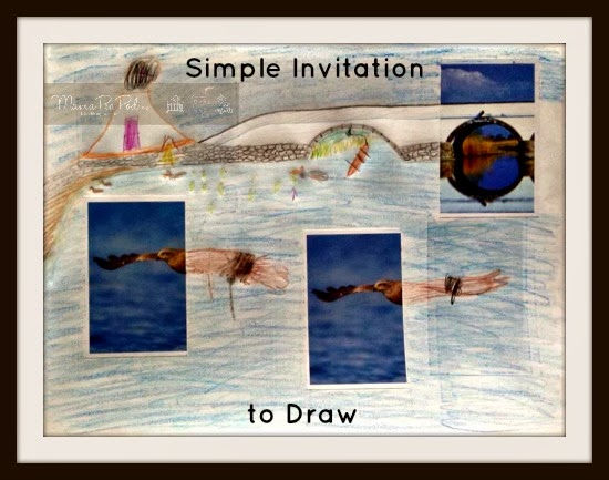 simple invitation to draw for kids