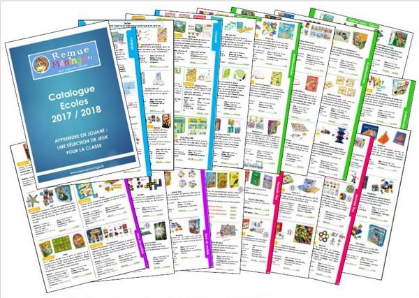 Catalogue Jeux Spécial Ecoles
