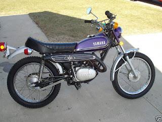Yamaha 100 Enduro