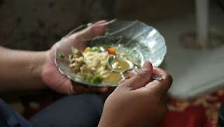masakan khas daerah, masakan melayu, resep roti jala, masakan pengganti nasi, roti jala, masakan khas daerah melayu