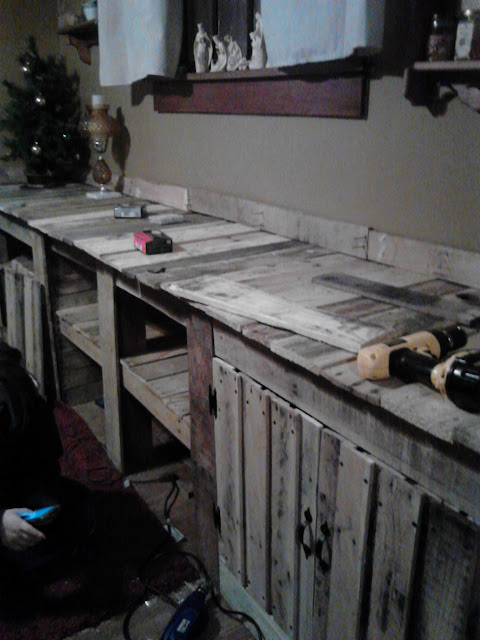 Pallet Solutions Dining Room Wall Cabinet Scrapality