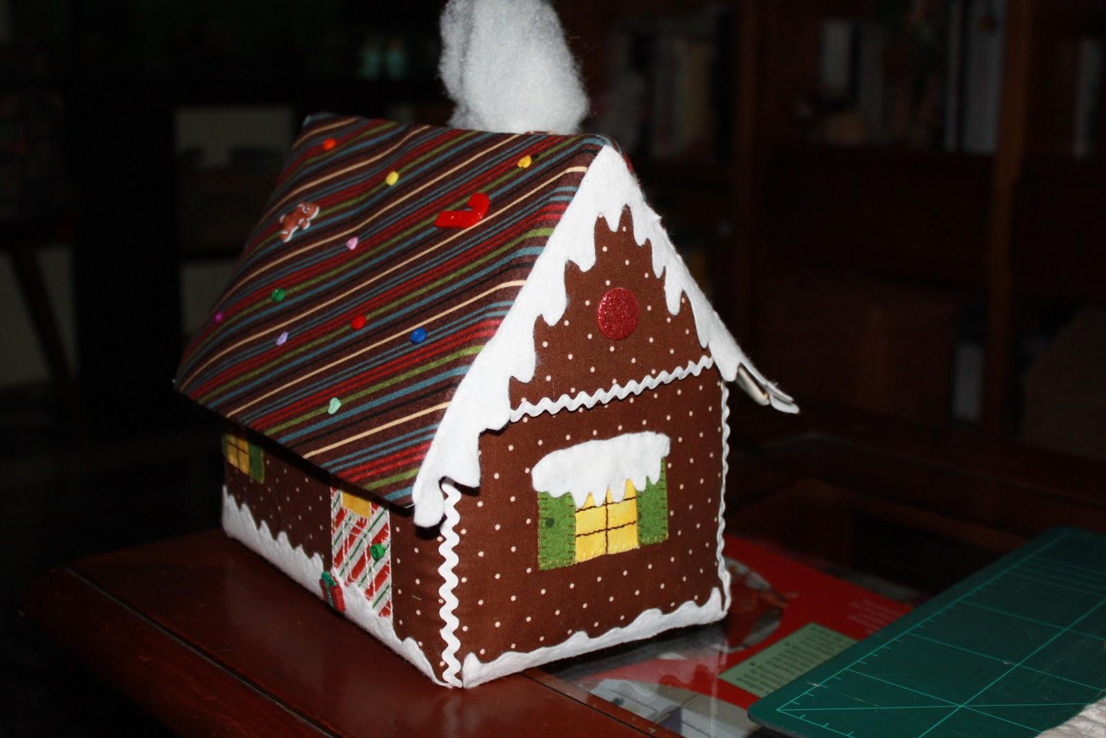 Fraupatchwork y sus ositos casita de jengibre para los dulces for Casa jengibre