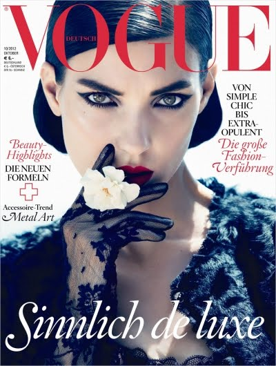 vogue germany october cover