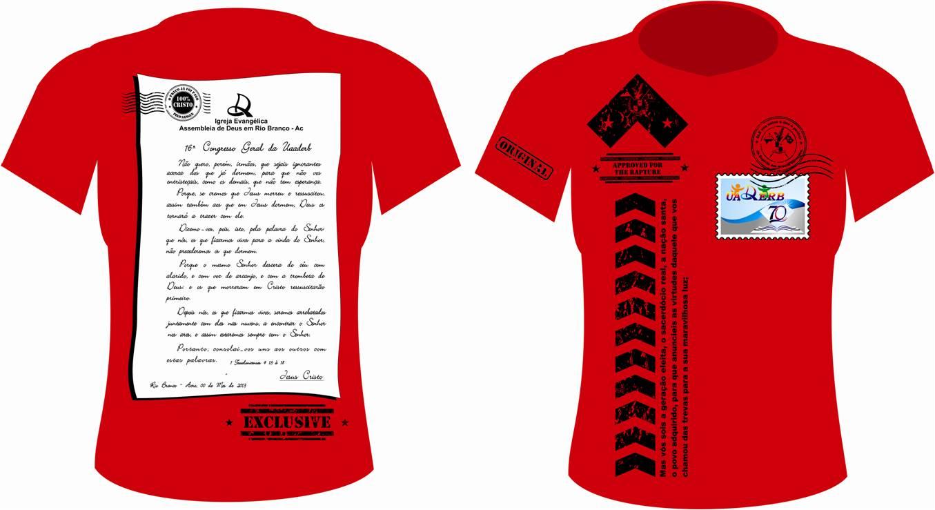 uniforme na cor vermelha da regional 2