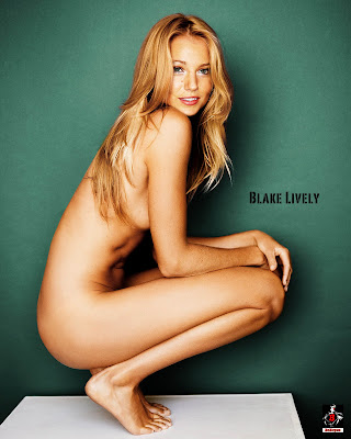 439023777 Blake Lively 4 123 77lo Blake Lively Nude Possing her Boobs & Pussy Fake