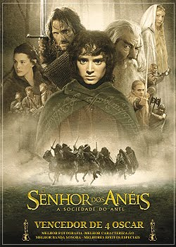 Filme O Senhor Dos Anis : A Sociedade Do Anel   Verso Extendida   Dual udio