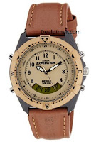 Timex Expedition Analog-Digital Beige Dial Unisex Watch MF13