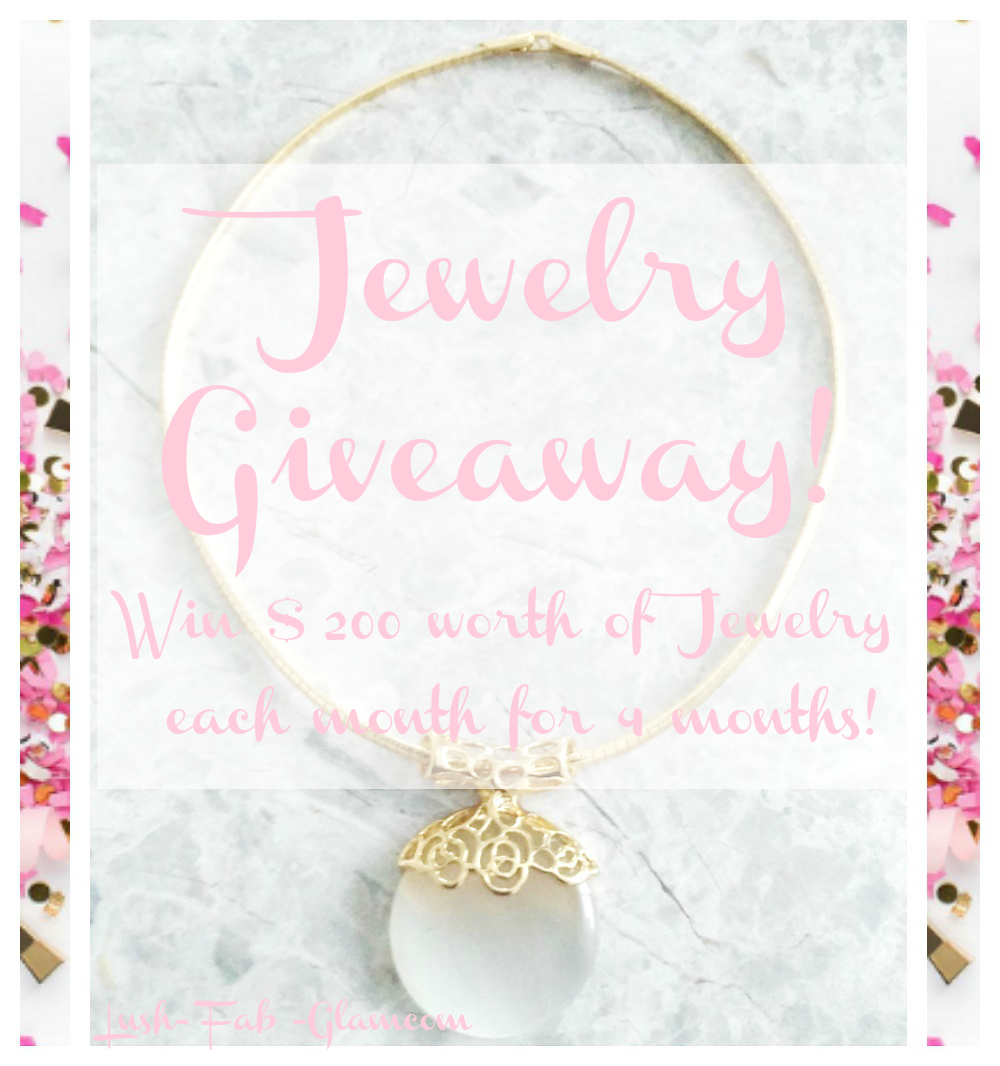 Fab Giveaway: 4 Lucky Winners will receive $200 worth of jewelry every month for 4 months!