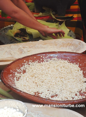 Corn a key ingredient at the Mexican Traditional Cuisine