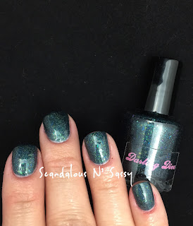Darling Diva Polish Long Live the Queen! Hug My Face Collection (Alien inspired)