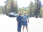The Colonel and I at Mt. Lassen