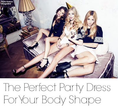 party dress for your body type
