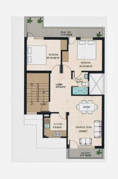 Wave City Floor Plan 9