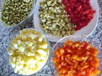 Salata de boeuf preparare reteta