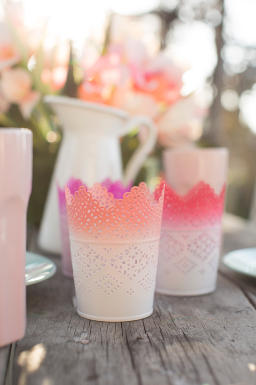 make ombre candle holders with this simple tutorial