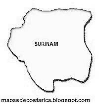 SILUETA DE SURINAM