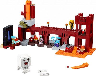 TOYS : JUGUETES - LEGO Minecraft  21122 La Fortaleza del Infierno | The Nether Fortress  Producto Oficial 2015 | Piezas: 571 | Edad: +8 años  Comprar en Amazon España & buy Amazon USA